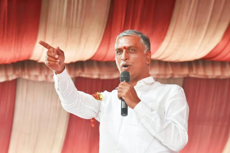 Telangana Finance Minister Harish Rao