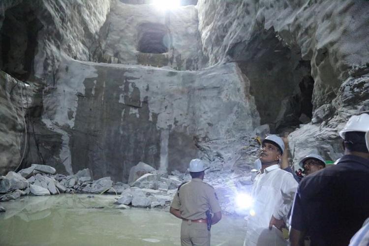 Telanganas Kaleshwaram project site sees third mishap in three days 3 injured