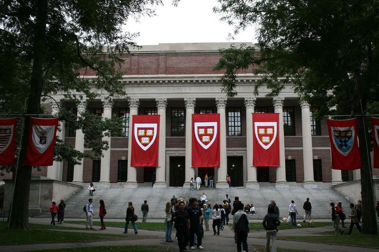 Harvard university and its Widener library