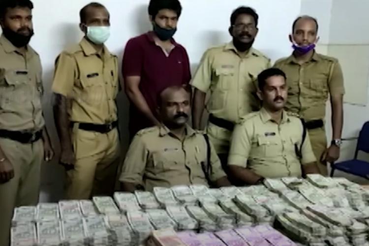hawala money caught inkasaragod
