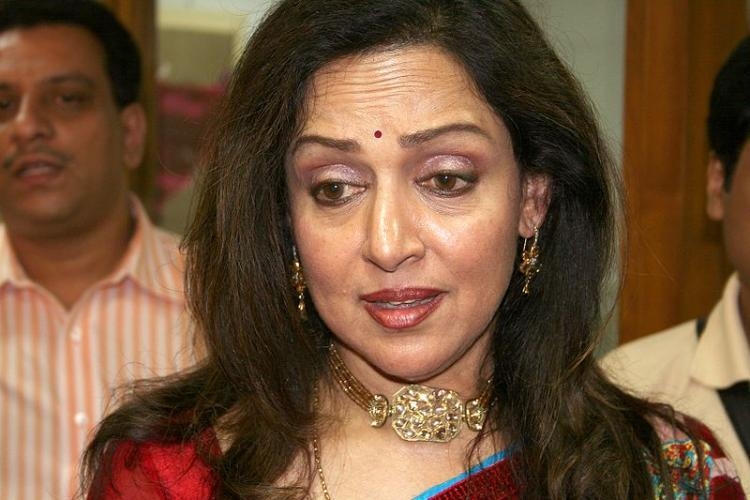 BJP leader slams Maha govt for giving Mumbai plot to Hema Malini at throwaway price