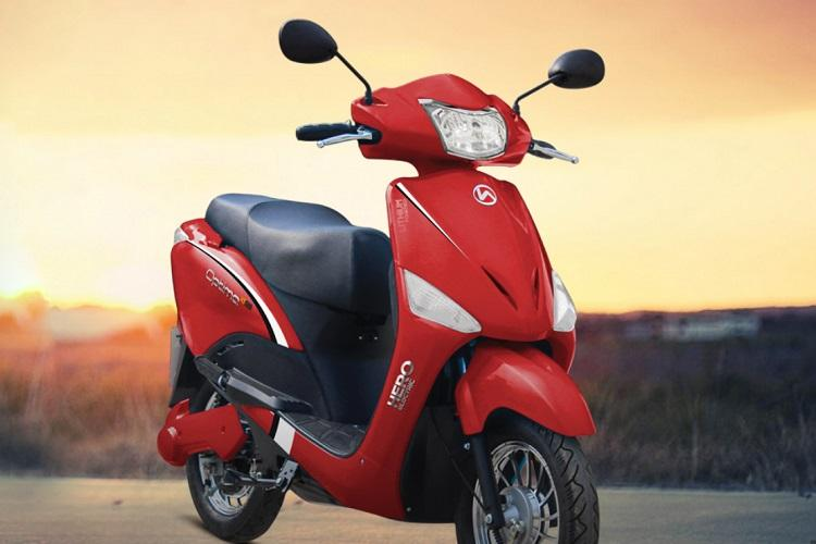 Hero Electric India rolls out two e-scooters Optima ER and Nyx ER