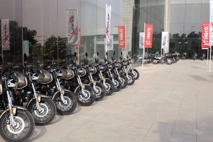 Hero Motocorp sold 14 lakh bikes this festive season