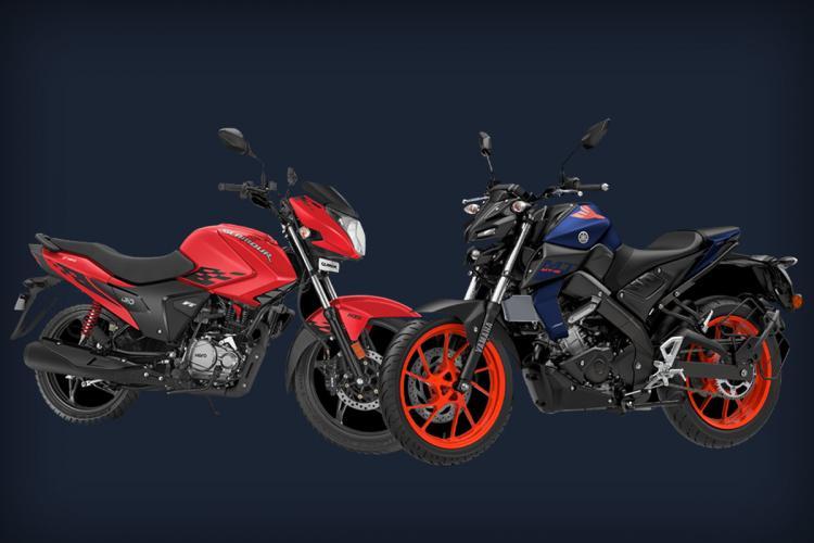Hero MotoCorp Yamaha bikes