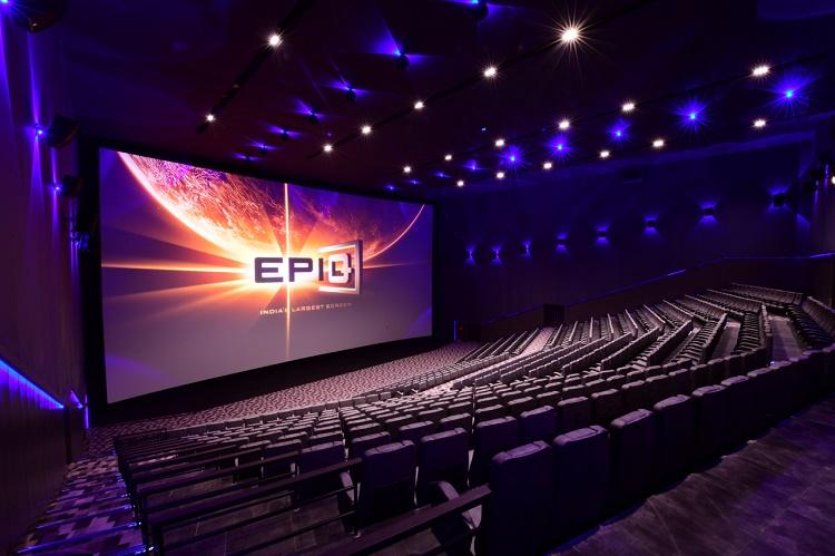 Qube launches South Asias largest theatre screen in AP Saaho first film screened