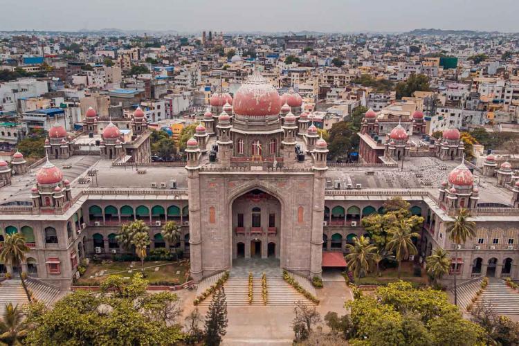 A birds eye view of Telangana High Court