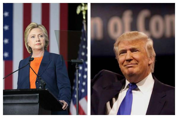 Clinton and Trump make final pitches in battleground states