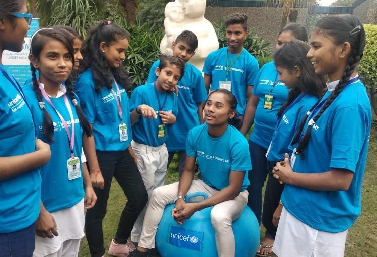Athlete Hima Das named UNICEF Indias first youth ambassador