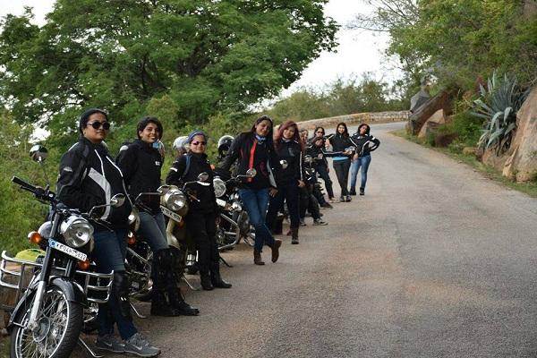 From heavy Bullets to flat tires this biker group is teaching women to hit the roads