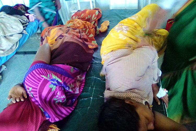 Newborns forced to share incubators patients sleep on floor at Ktaka hospital