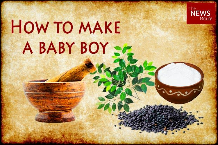 Banyan branches lentils and curd Sure shot way to conceive a boy according to this textbook