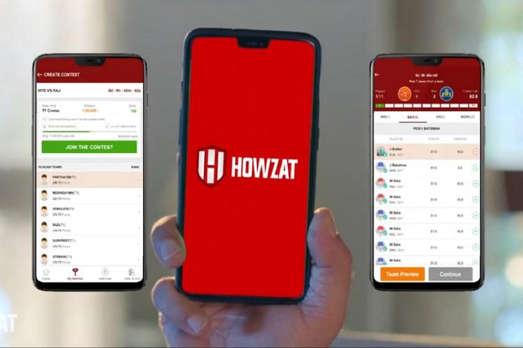 Howzat app is a fantasy gaming platform that has cricket kabaddi and other games