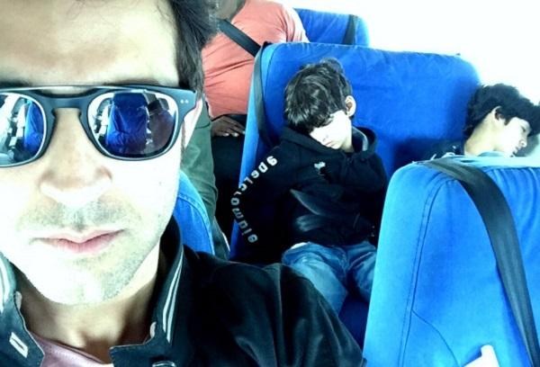 Hrithik Roshan and his sons were at Istanbul airport hours before terrorist attack