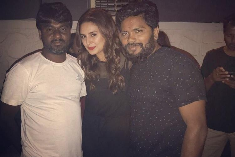 Huma Qureshi wraps up her portion in Kaala