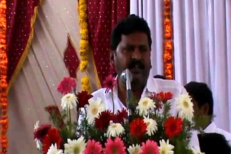 Instead of promising to build toilets Ktaka MLA abuses man for not protecting wife