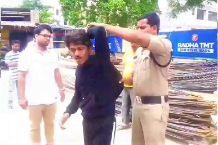 Hyderabad police nab man for creating ruckus outside estranged wifes house