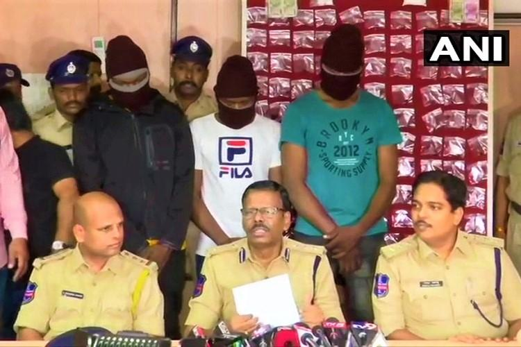 Cocaine smuggling racket busted in Hyderabad 254 grams worth Rs 15 lakh seized