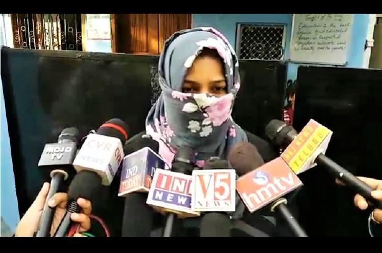 Hyd woman allegedly given triple talaq over phone for having baby girl
