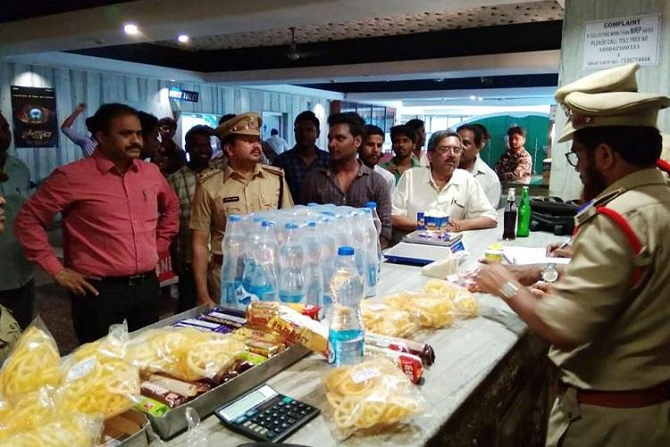 Raids at Hyd cinema theatres continue 34 more cases booked for MRP violations