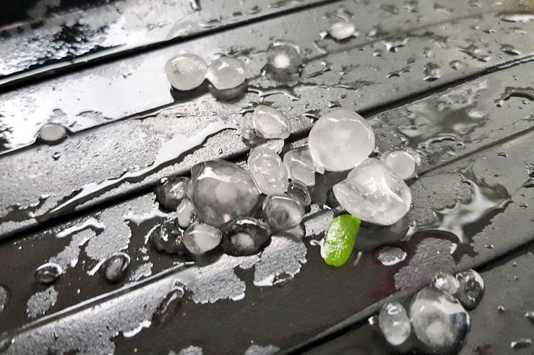 Hyderabad cools down as hailstorms lash several parts of the city more rain in store