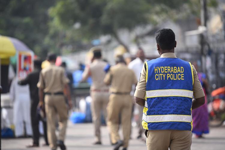 Cyberabad cops randomly fingerprint man at mall claim its for curbing crime