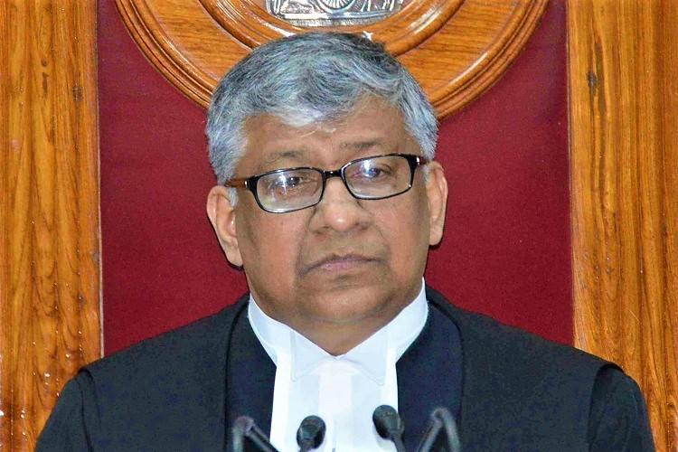New Chief Justice of Hyd HC Justice Radhakrishnan to assume office by July 16