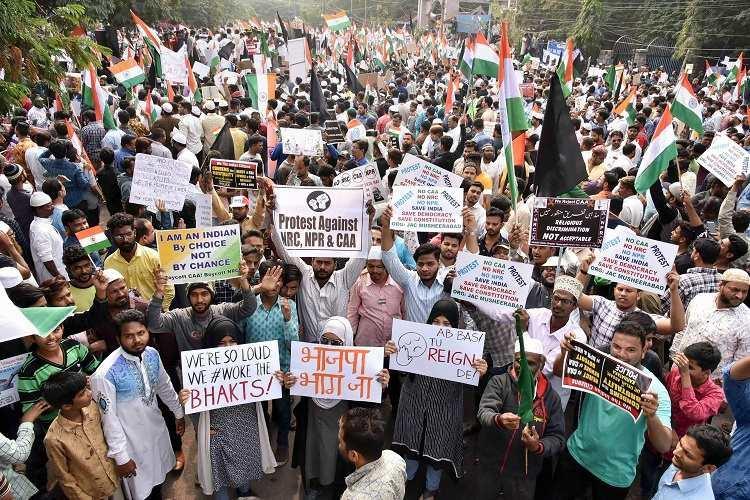 From Baigan to biryani Hyderabadi humour on display at anti-CAA protest