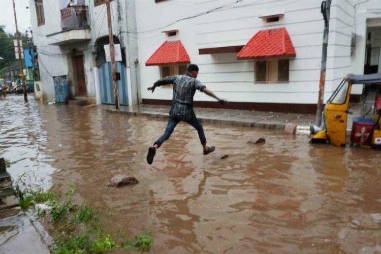 Rains to continue in Hyderabad parts of Telangana as IMD extends alert