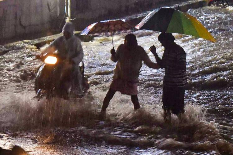 Representative image of rains