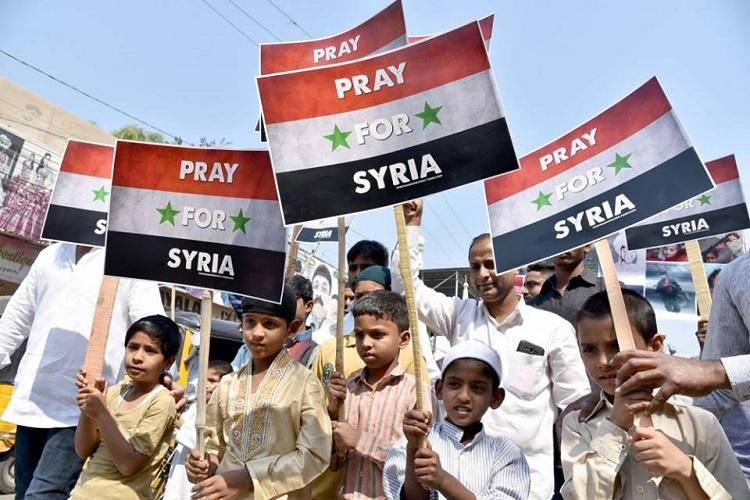 Denied permission for rally to Pray for Syria Telangana man attempts suicide