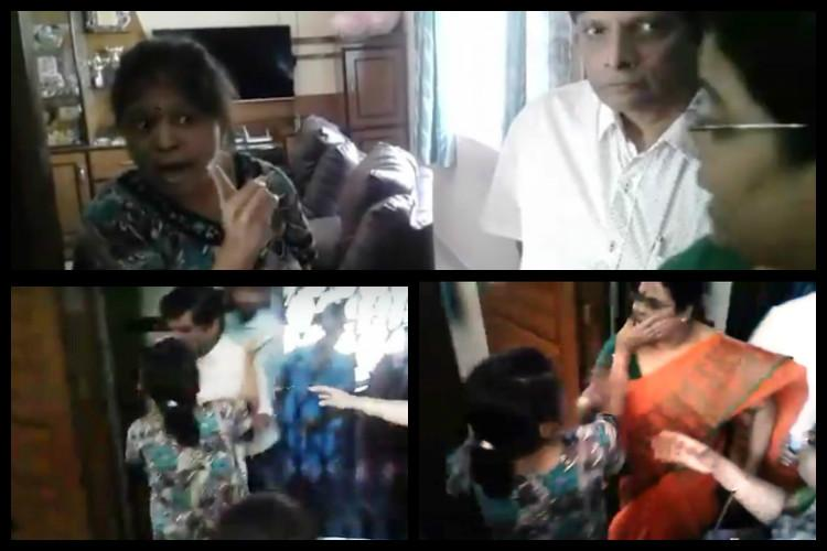 Raided by NGO for suspected child labour Hyderabad woman slaps activists beats kid