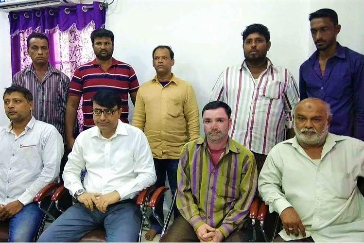 Share autorickshaw drivers in Hyderabads old city area allege harassment by cops