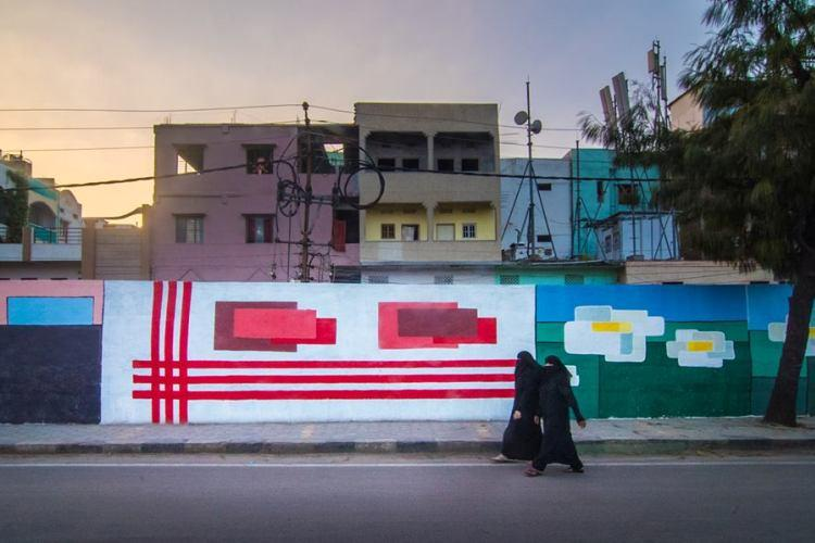 In Images Hyderabad gets a makeover as street artists gather in the city