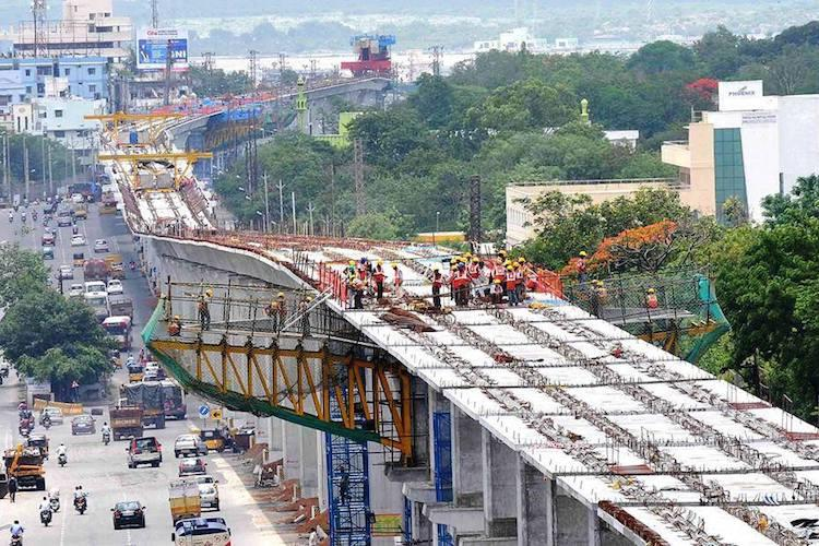 Hyd metro rail construction Here are the routes you should avoid till April 26