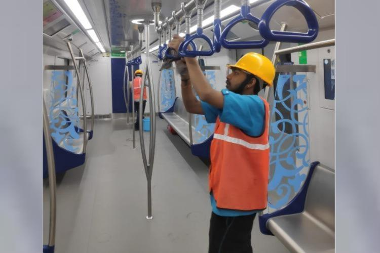 Metro rail services resume across India after gap of over 5 months
