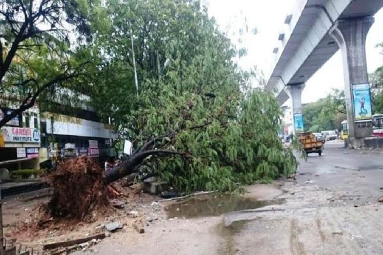 Hail thunderstorms predicted for next few days in Hyderabad no power in several areas