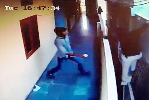 Video Hyderabad student dies while trying to jump from one building to another
