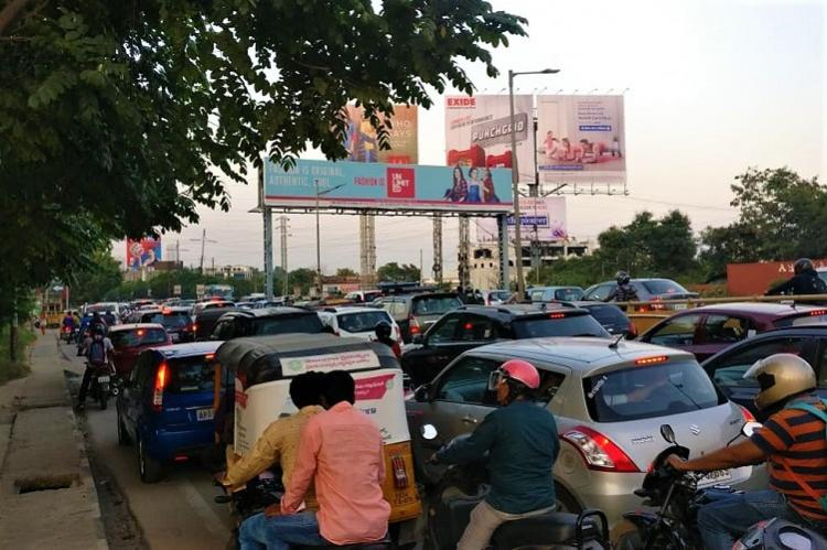 How Hyderabads vehicular traffic is increasing pollution to alarming levels
