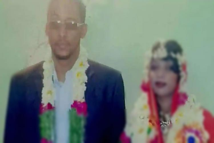 Faitmas wedding picture taken in 2015