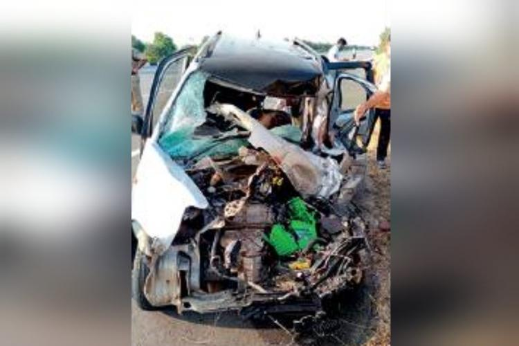 car accident on ORR where woman and baby died