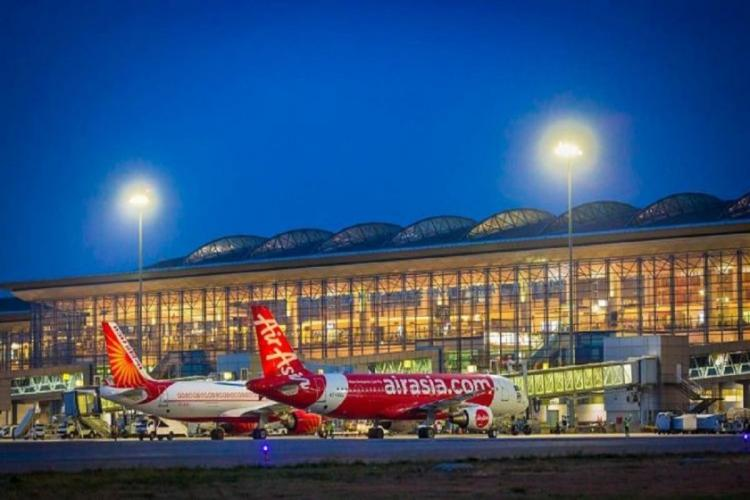 Hyderabad airport terminal