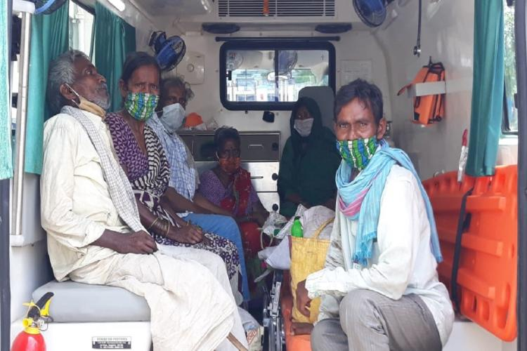 Six people who accidentally arrived in Keralas Thiruvananthapuram being shifted to a quarantine facility