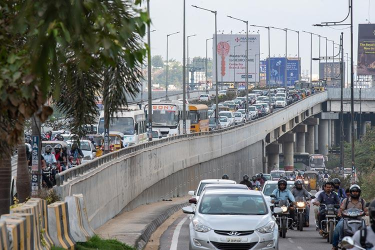 Impressed by Mumbais anti-honking campaign KTR wants Hyderabad to follow suit