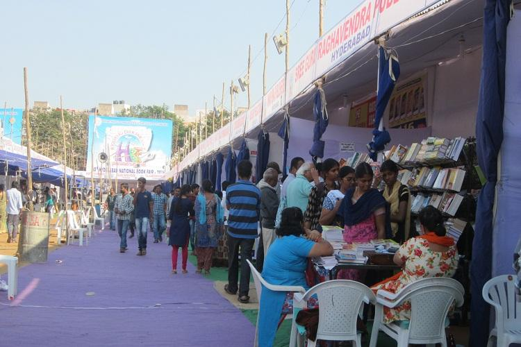 At the Hyderabad Book Fair rising footfalls but falling sales thanks to demonetisation