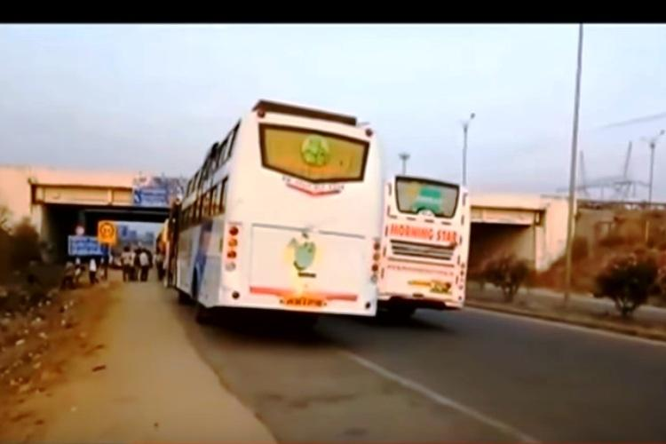 Drunken Hyderabad bus driver puts 50 passengers at risk cops astounded at how drunk he was