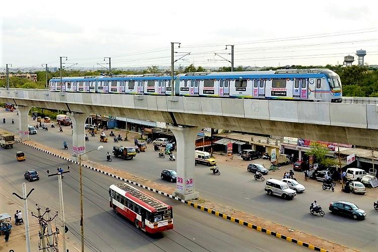 Hyderabad Metro to service Hitec city from Wednesday