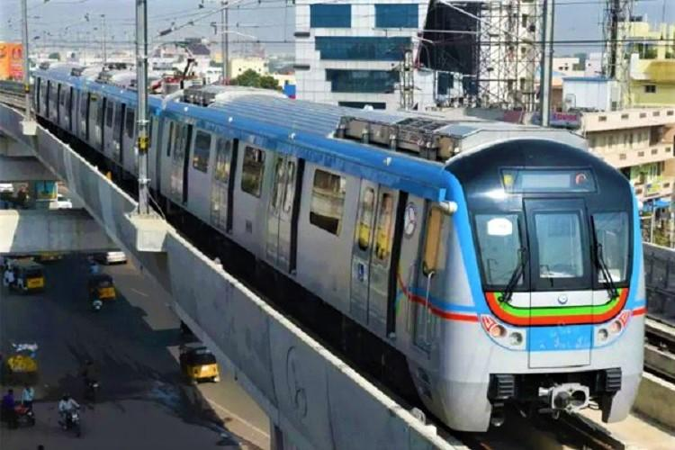 Hyderabad Metro sees record 46 lakh passengers on New Years Eve