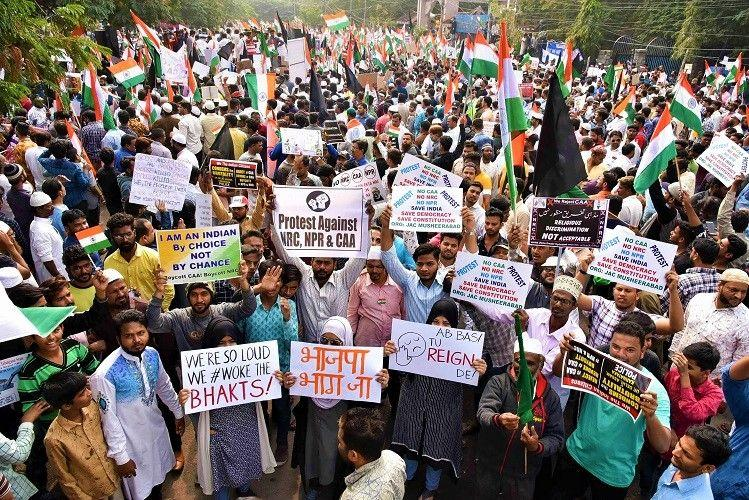 Hyderabads anti-CAA million march organiser booked for violating police permission