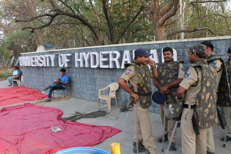 Hyderabad University students lecturers granted bail