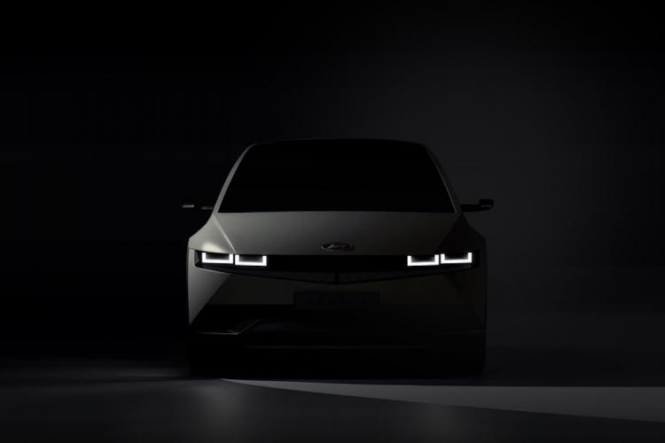 Hyundai teases its first all-electric car IONIQ 5 to launch in February